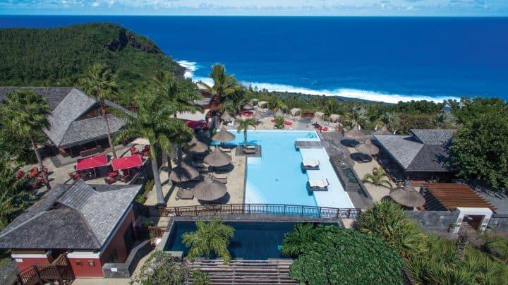Les hôtels à plus de 150 à 250 € à la Réunion - Hotel Le Palm