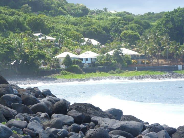 Manapany, une partie de la ville de Saint Joseph à la Réunion