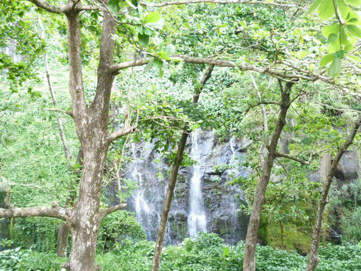 Une cascade à Sainte-Anne