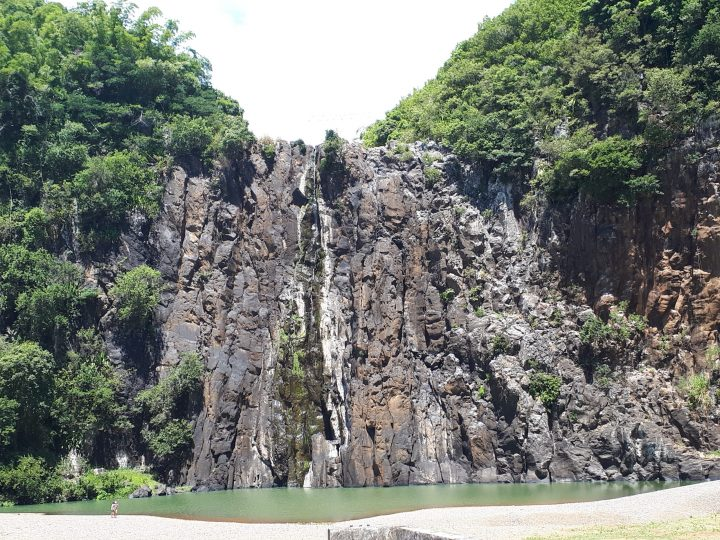 Le canyoning à la Réunion au bassin bœuf