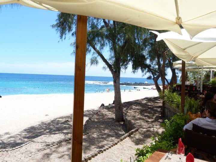 La plage de Boucan Canot