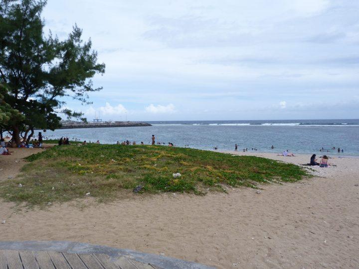 Une des plages de Saint-Pierre à la Réunion